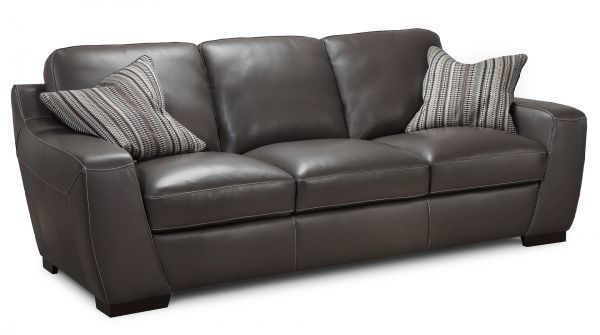 Picture of ALPHA LEATHER SOFA