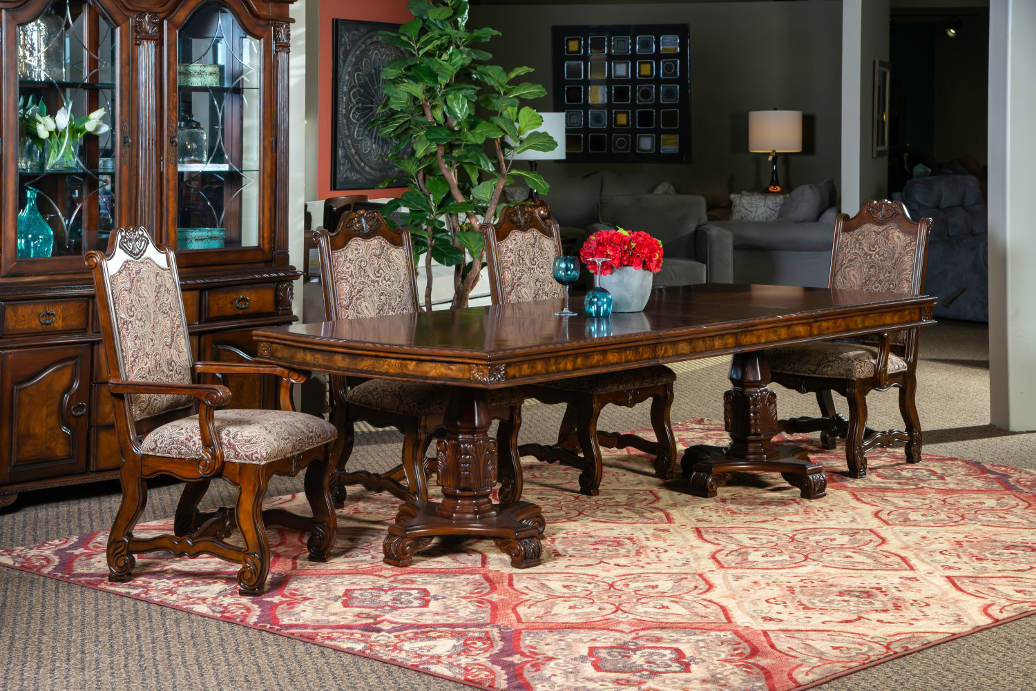 Picture of RENAISSANCE RECTANGULAR DINING SET