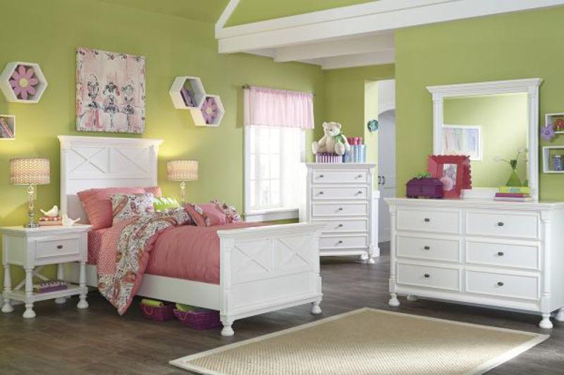 Picture of KASLYN TWIN PANEL BEDROOM SET