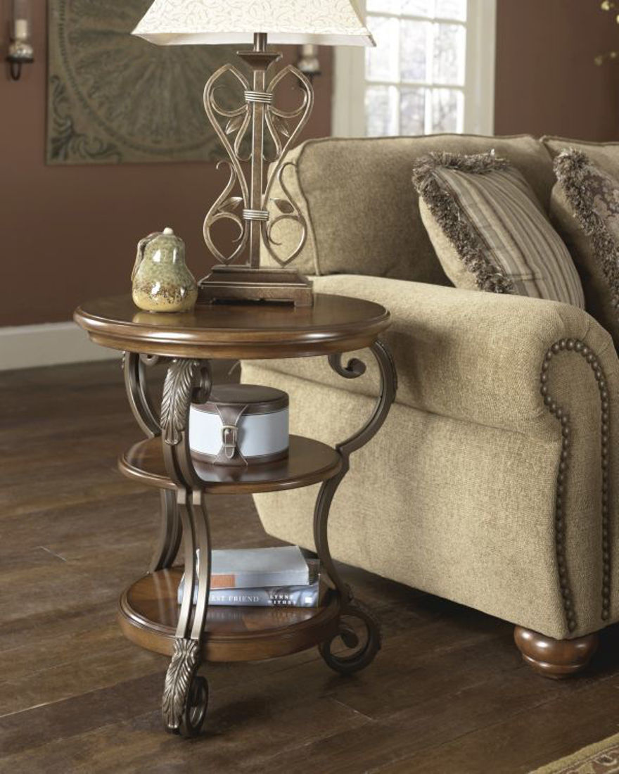 Picture of NESTOR CHAIR SIDE TABLE