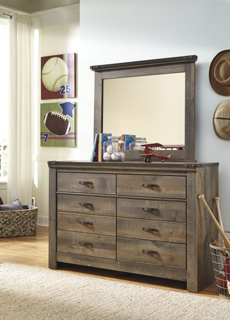 Picture of TRINELL DRESSER MIRROR