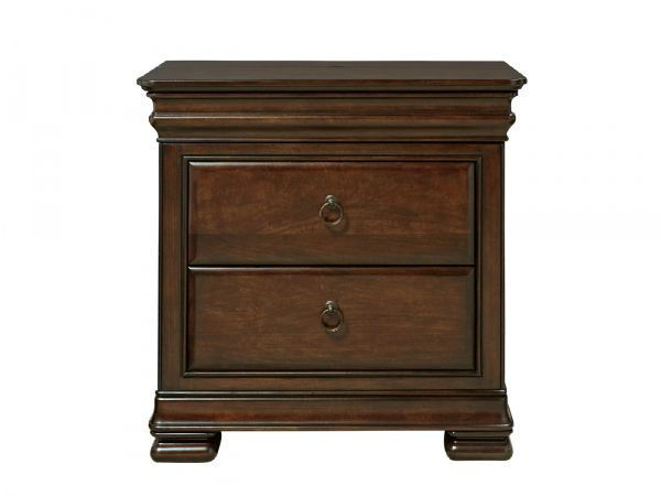 Picture of REPRISE TWO DRAWER NIGHTSTAND