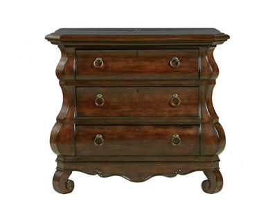 Picture of REPRISE THREE DRAWER BEDSIDE CHEST