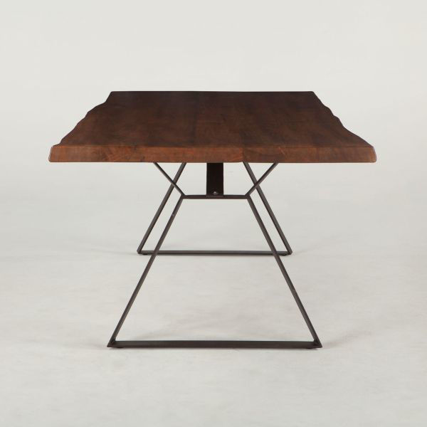 Picture of MELBOURNE LIVE EDGE DINING TABLE