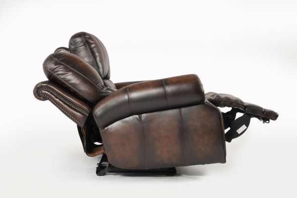 Picture of HILLSBORO ALL LEATHER POWER RECLINING LOVESEAT