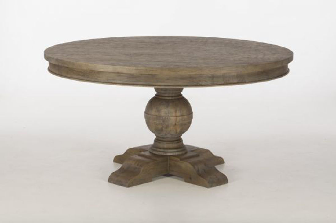 Picture of CHARLESTON SOLID WOOD ROUND TABLE