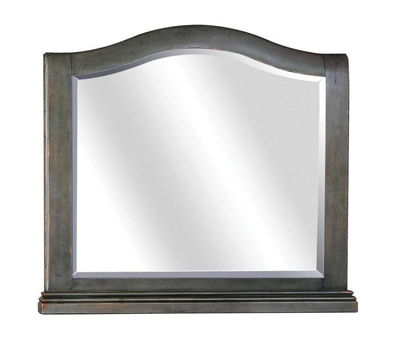 Picture of OXFORD PEPPER CORN ARCHED MIRROR