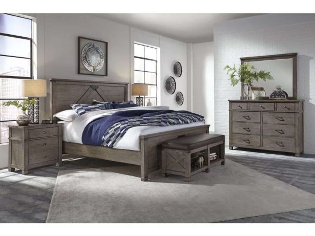 Picture of TUCKER QUEEN PANEL BEDROOM SET