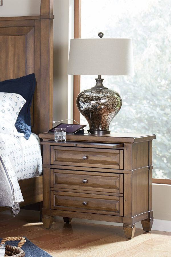 Picture of THORNTON TWO DRAWER NIGHTSTAND