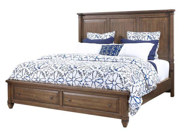 Picture of THORNTON QUEEN STORAGE BEDROOM SET