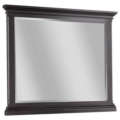 Picture of OXFORD BLACK LANDSCAPE MIRROR