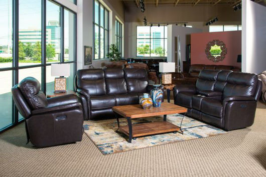 Picture of ZOEY LEATHER POWER RECLINING SET