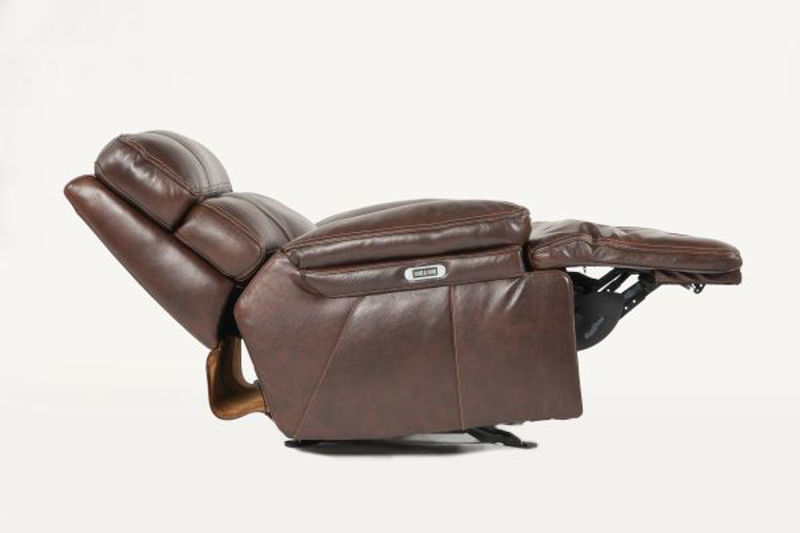 Picture of COFFEE ALL LEATHER POWER RECLINING SET