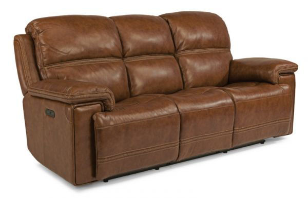 Picture of FENWICK LEATHER POWER RECLINING SOFA