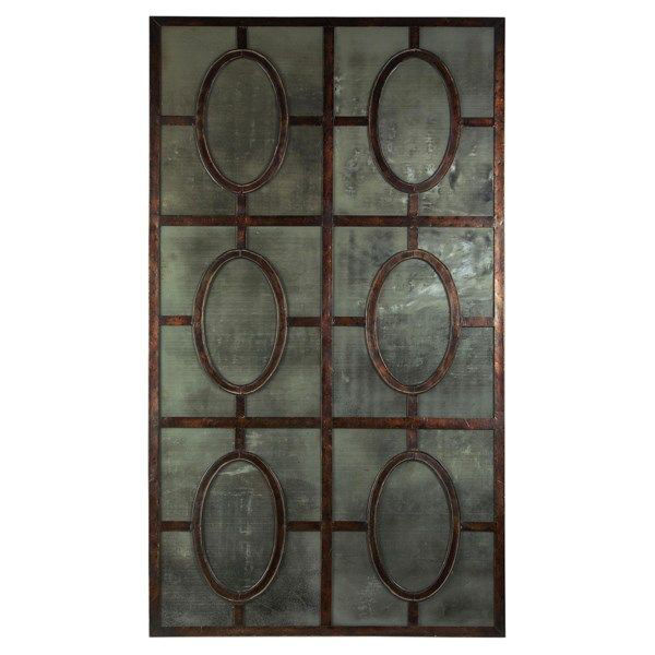 Picture of ANTIQUED MIRROR