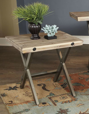 Picture of CALLISTA SQUARE END TABLE
