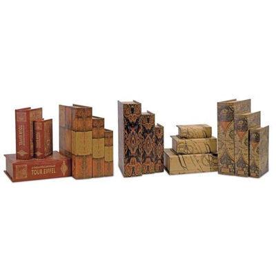 Picture of BOOK BOXES - SET OF 15