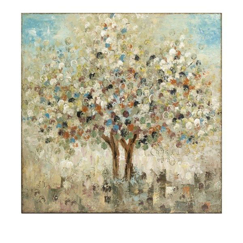 Picture of SEASONS HANDPAINTED OIL CANVAS
