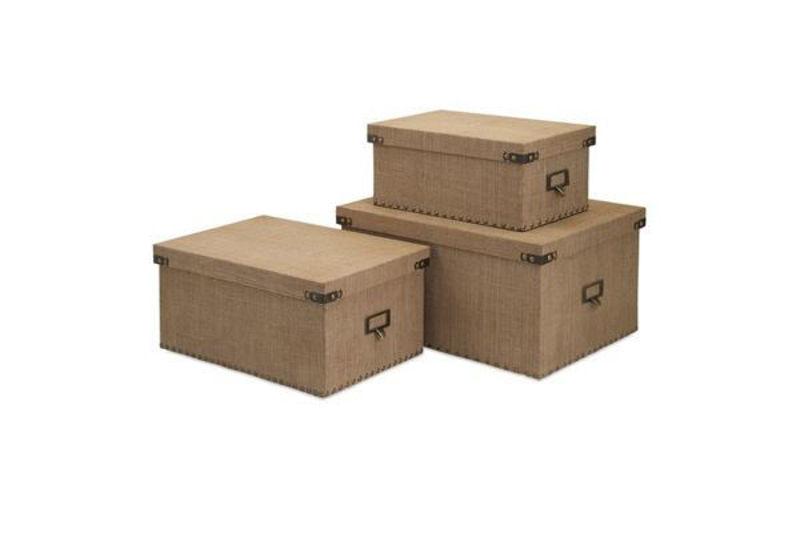 Picture of CORBIN STORAGE BOXES