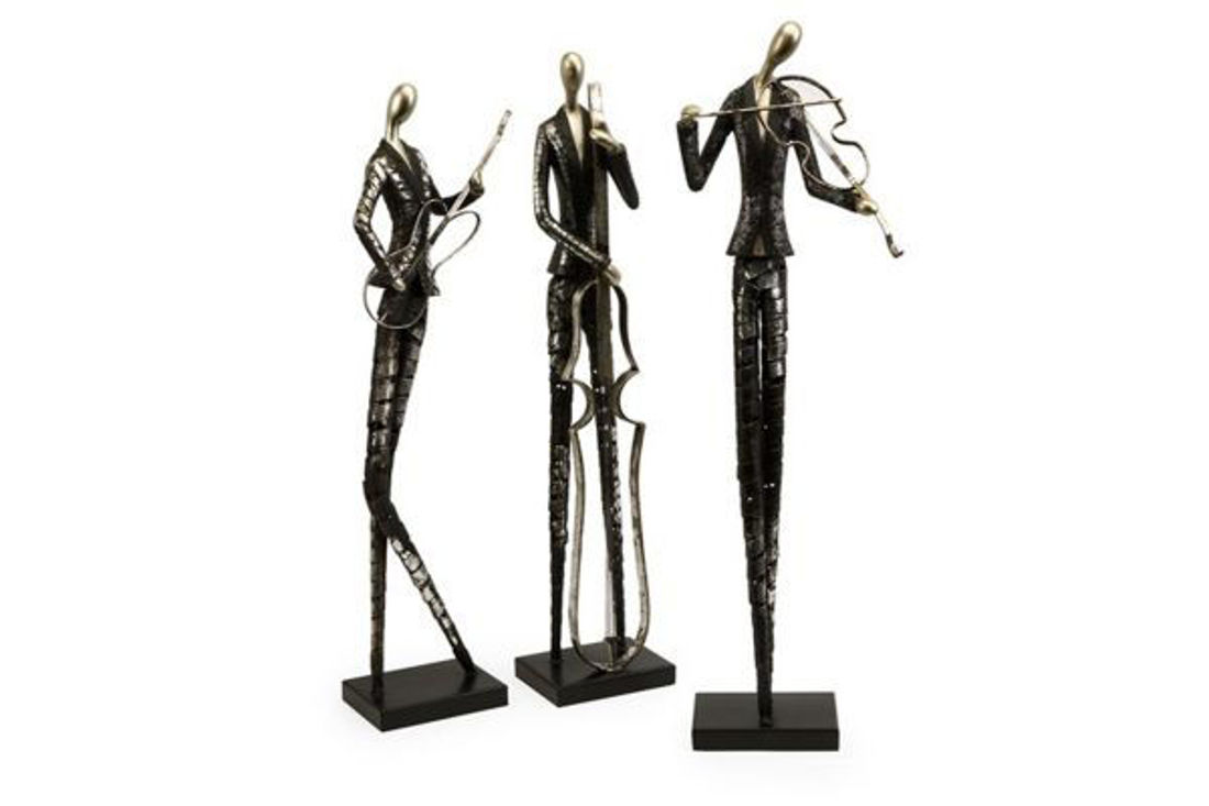 Picture of JAZZ CLUB MUSICIAN STATUERIES