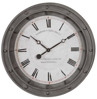 Picture of PORTHOLE CLOCK