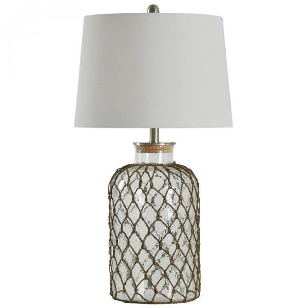 Picture of SEEDED GLASS TABLE LAMP