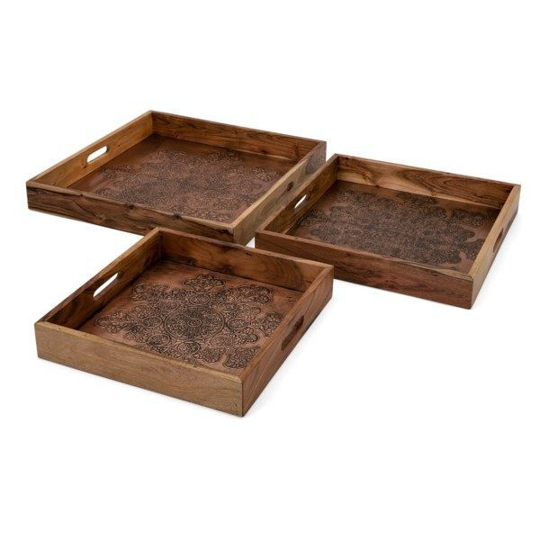 Picture of CECILIA COPPER DECO TRAYS