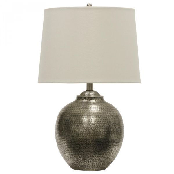 Picture of ANTIQUE PEWTER TABLE LAMP