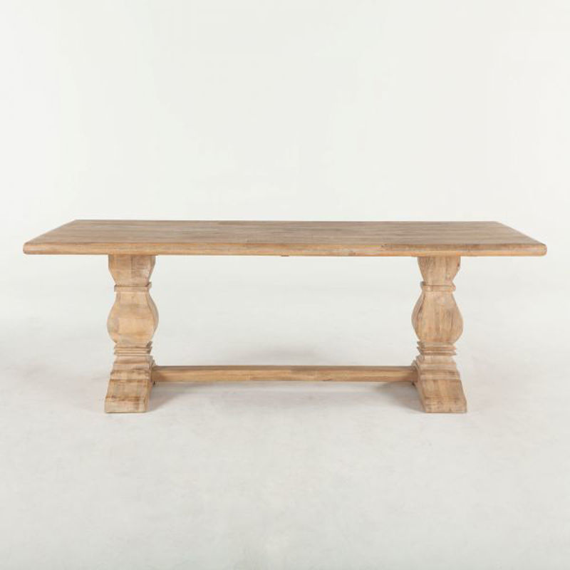 "Picture of CORDOBA SOLID WOOD 84"" DINING TABLE"