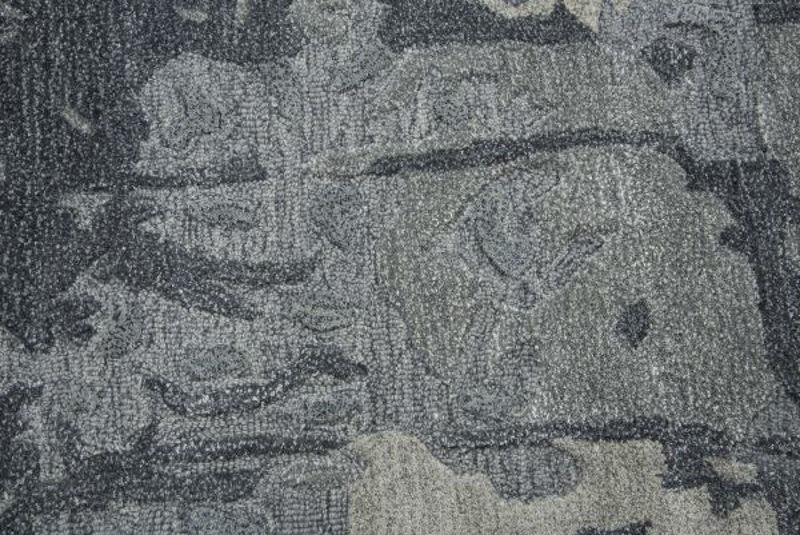 Picture of MOD GRAY WOOL RUG