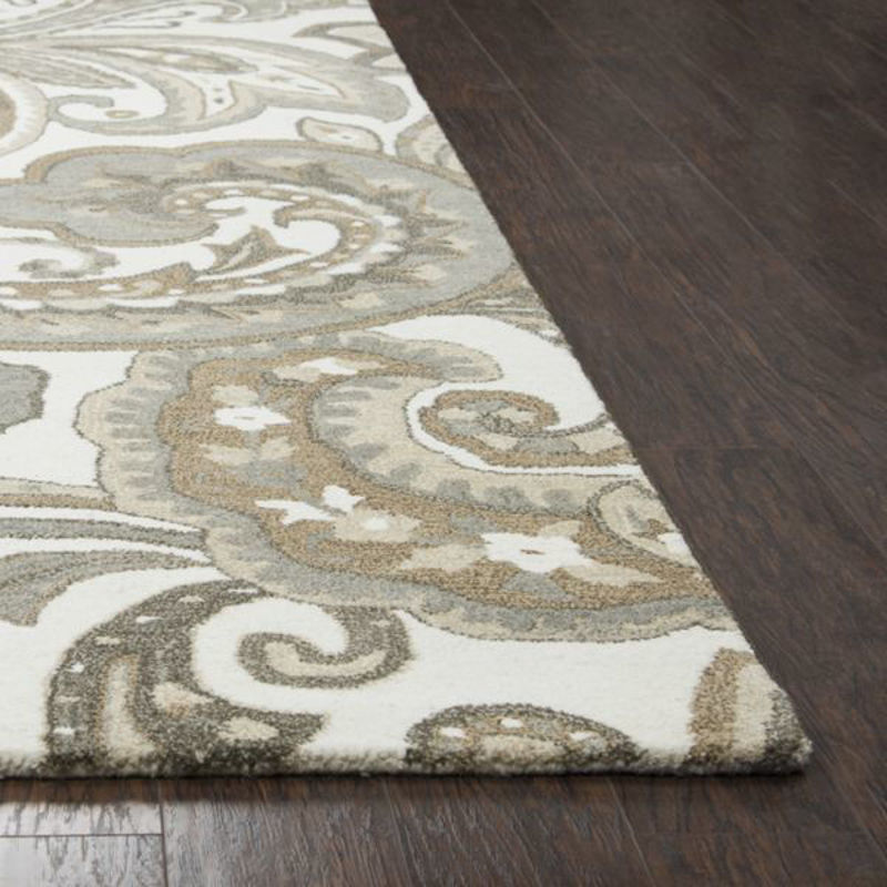 Picture of SUFFOLK BEIGE WOOL RUG
