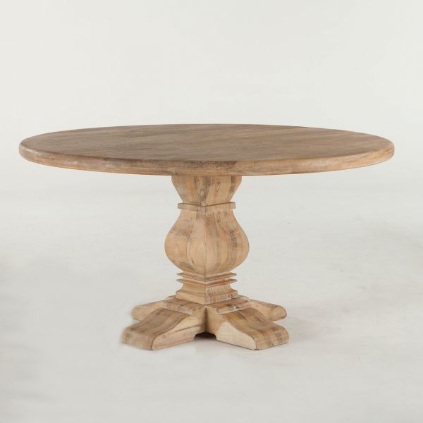 """Picture of CORDOBA SOLID WOOD 60"""" ROUND DINING TABLE"""
