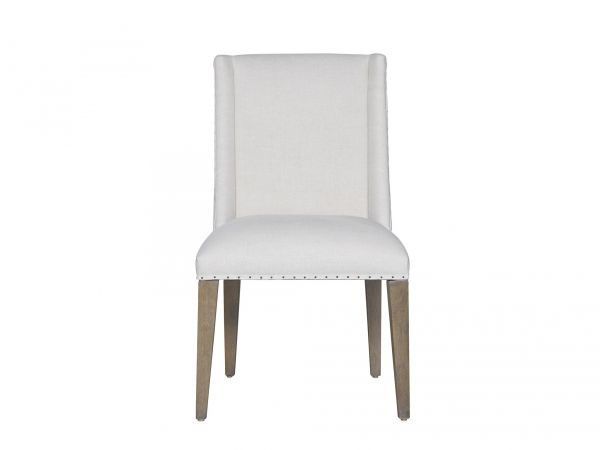 Picture of TYNDALL BELGIAN LINEN DINING CHAIR