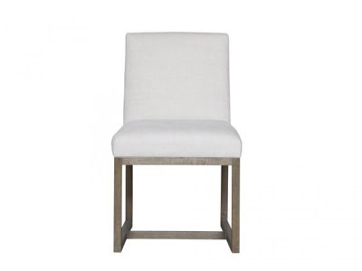 Picture of CARTER BELGIAN LINEN DINING CHAIR