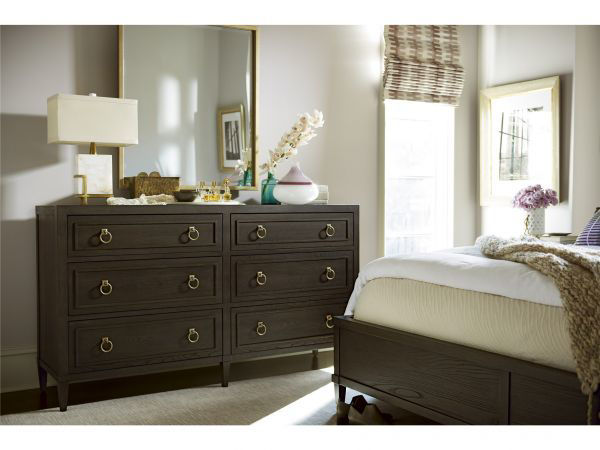 Picture of SOLILOQUY 6 DRAWER DRESSER