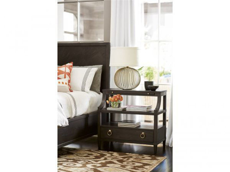 Picture of SOLILOQUY BEDSIDE TABLE