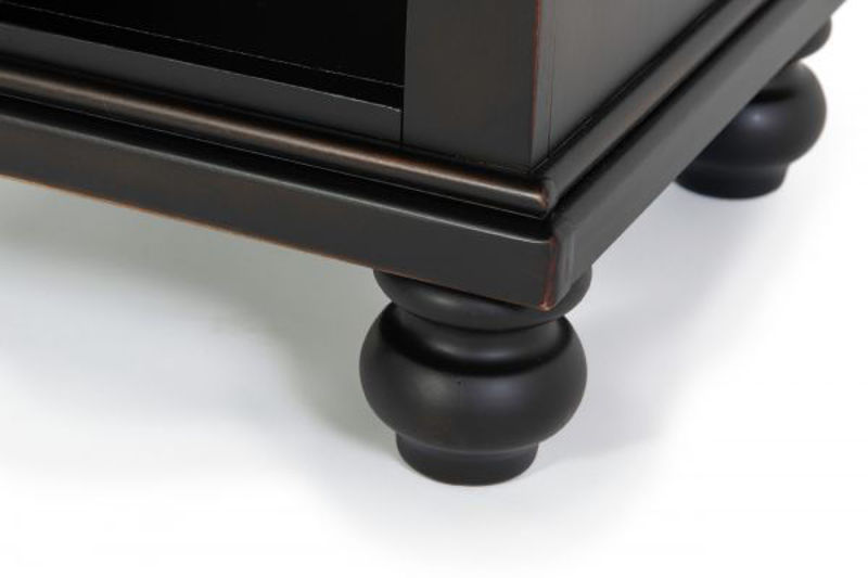 Picture of OXFORD BLACK 1 DRAWER NIGHTSTAND
