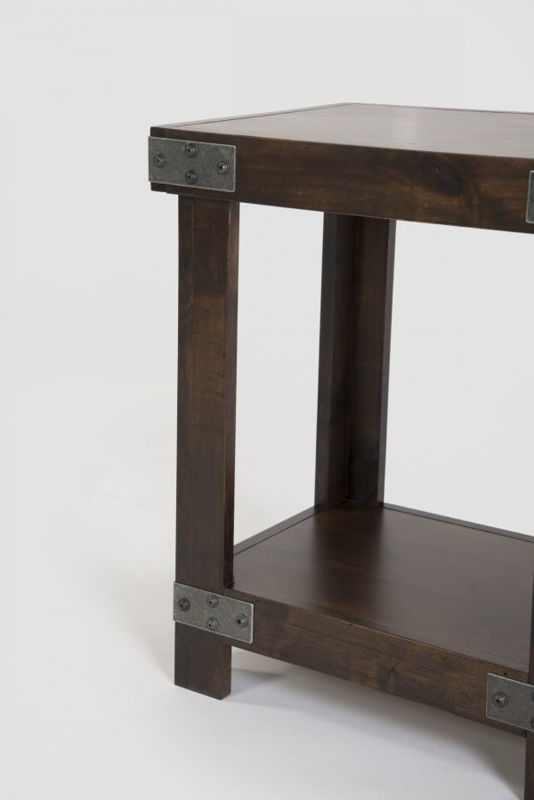 Picture of INDUSTRIAL CHAIRSIDE TABLE