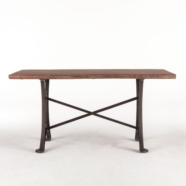 Picture of RUSTIC FORGE LIVE EDGE GATHERING TABLE