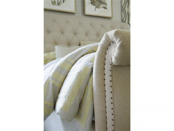 Picture of BOHO CHIC UPHOLSTERED QUEEN BED