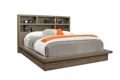 Picture of MODERN LOFT QUEEN PLATFORM BED
