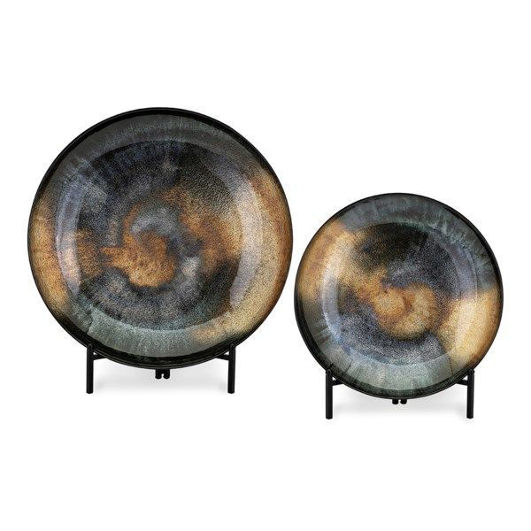 Picture of ACOTAS GLASS CHARGERS - SET OF 2