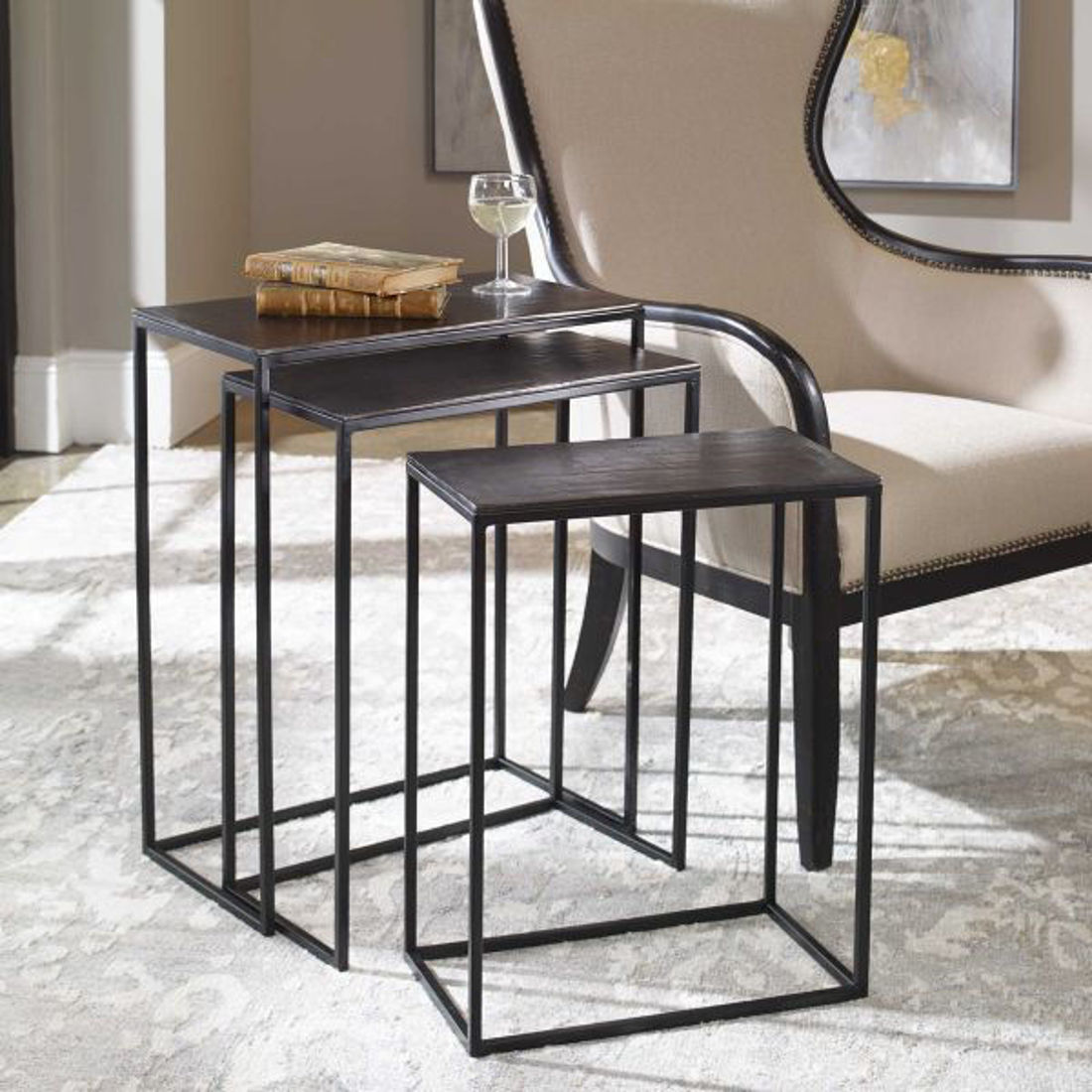 Picture of COREENE NESTING TABLES - SET OF 3