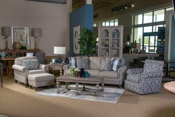 Picture of RUNAROUND STONE LIVING ROOM SET