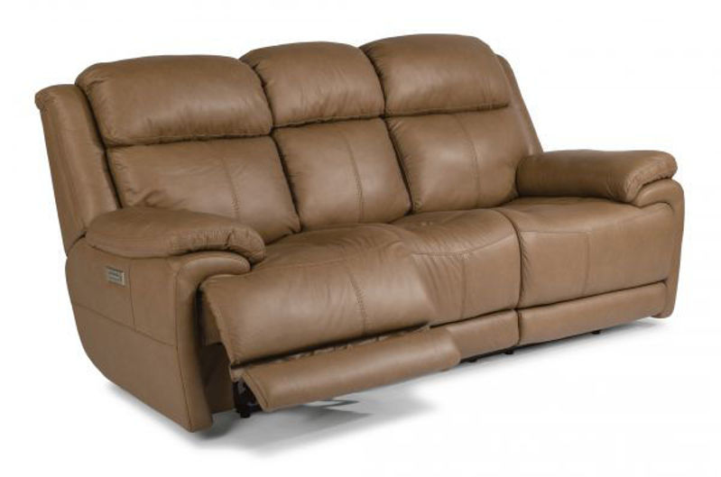 Picture of ELIJAH LEATHER POWER RECLINING SET
