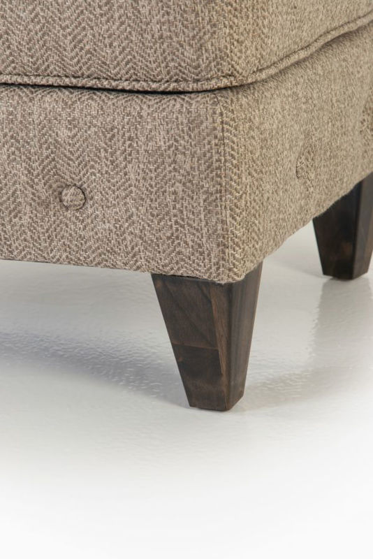 Picture of RUNAROUND STONE UPHOLSTERED OTTOMAN