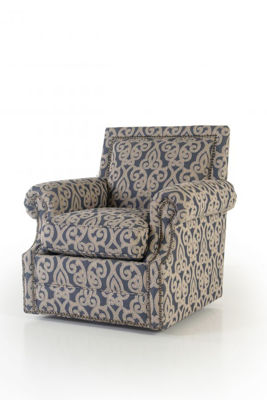 Picture of BEAUTIFUL DAY INDIGO SWIVEL CHAIR