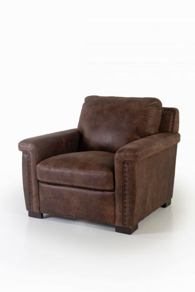 Picture of STALLONE ALL LEATHER CHAIR