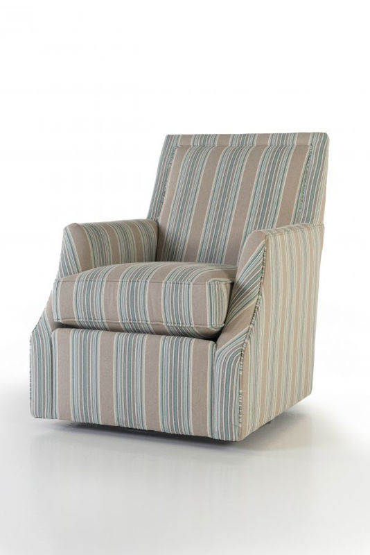 Picture of OUTFITTER ISLAND UPHOLSTERED SWIVEL CHAIR