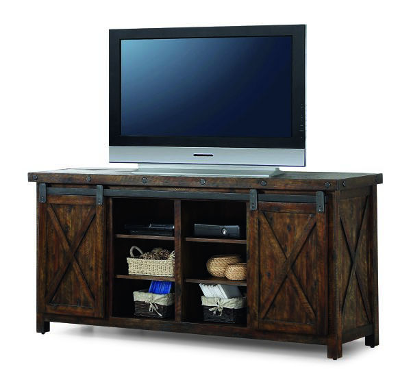 Picture of CARPENTER ENTERTAINMENT BASE WITH 4 DRAWERS